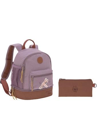 LÄSSIG Kinderrucksack »Adventure, Dragonfly, Mini Backpack«, Floureszierende Flächen,... kaufen