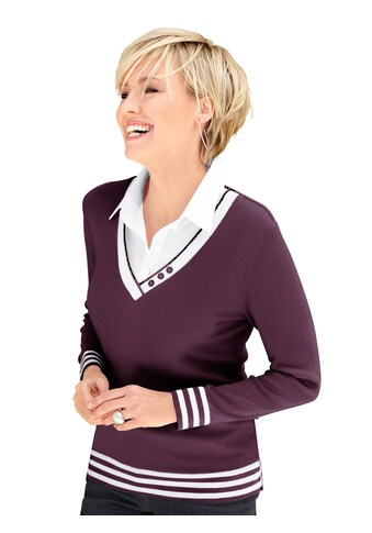 Casual Looks 2-in-1-Pullover »2-in-1-Pullover« kaufen