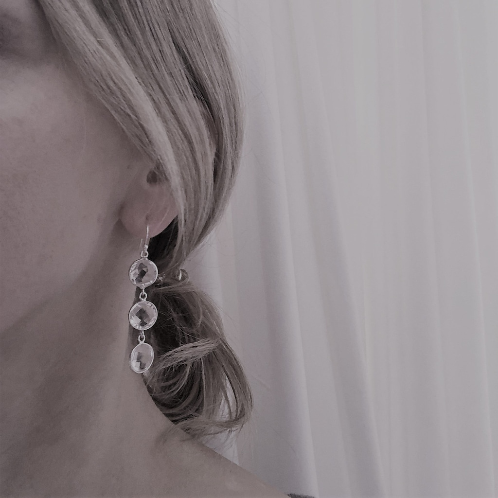 AILORIA Paar Ohrhänger »GARANCE Ohrringe«, mit Kristall