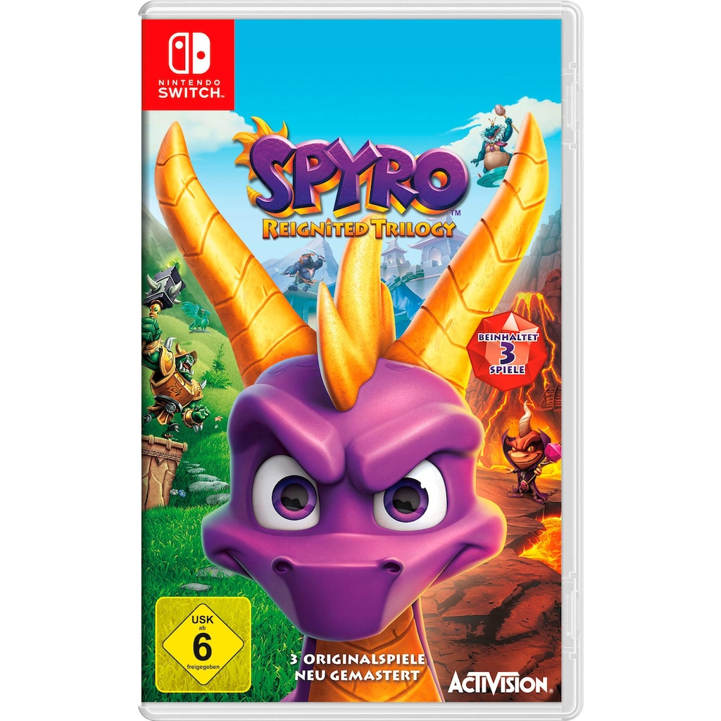Activision Spiel »Spyro Reignited Trilogy«, Nintendo Switch