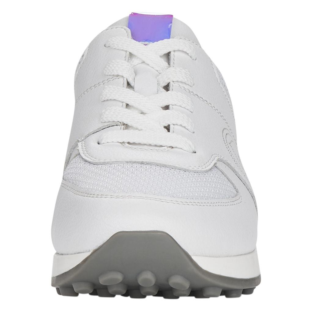 Remonte Sneaker, mit changierenden Besätzen