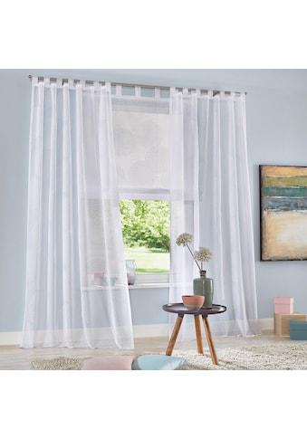 Raffrollo »Belem«, my home, mit Schlaufen kaufen
