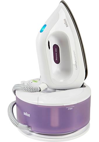 Braun Dampfbügelstation »CareStyle Compact IS 2044, lila«, max. Dampfmenge 300g/min,... kaufen