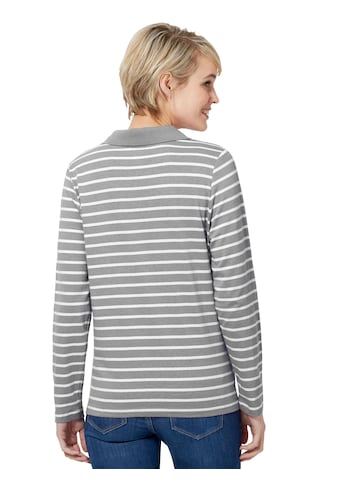 Casual Looks Poloshirt, wunderschönes - Streifendessin kaufen