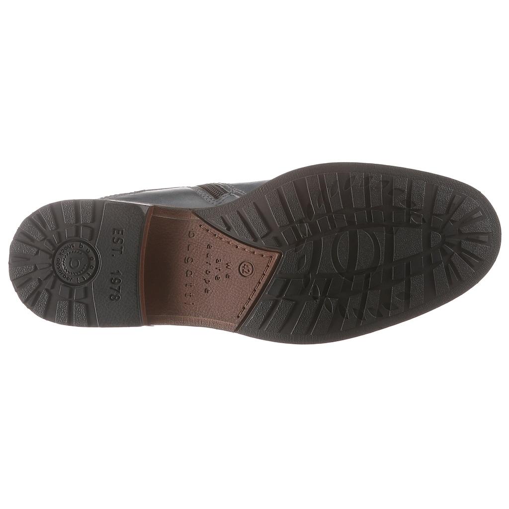 bugatti Schnürstiefelette »Marcello«, mit komfortablem Wechselfußbett