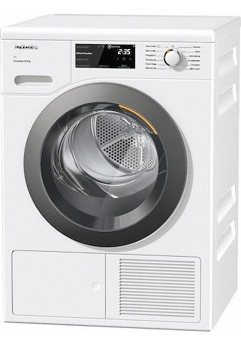 Wärmepumpentrockner, Miele, »TCF640 WP EcoSpeed&8 kg T1« kaufen