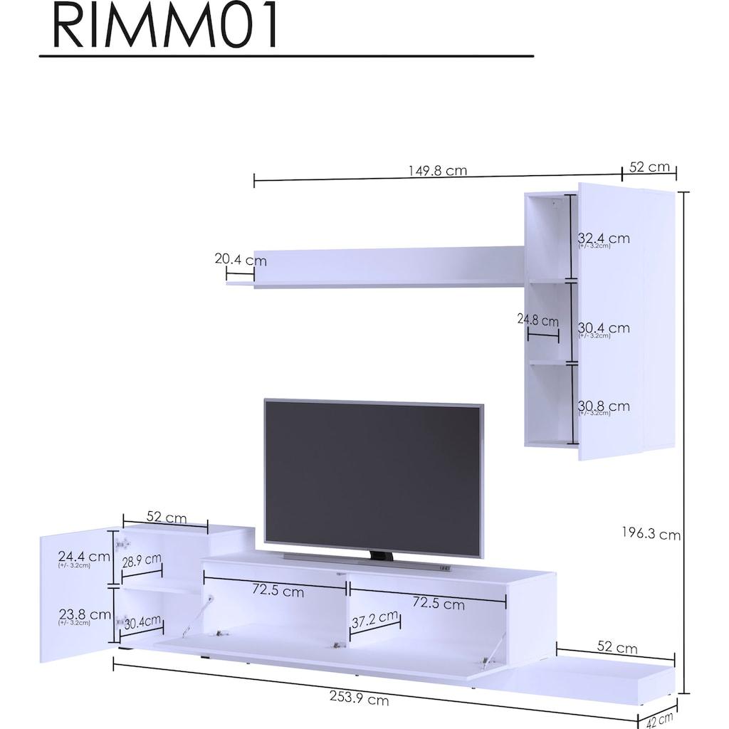 my home Wohnwand »Rimini«, (Set, 4 St.)