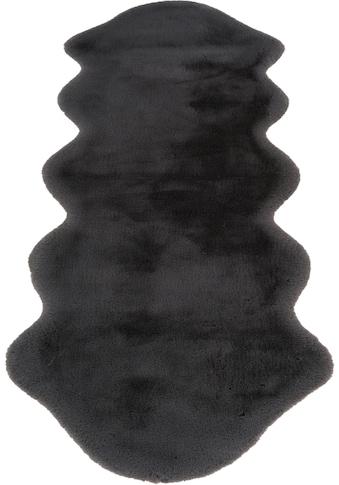andas Fellteppich »Mailo«, fellförmig, 35 mm Höhe, Kaninchenfell-Optik und Haptik,... kaufen