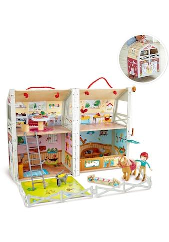 Hape Spielwelt »Ponyhof«, aufklappbar; zum Mitnehmen kaufen
