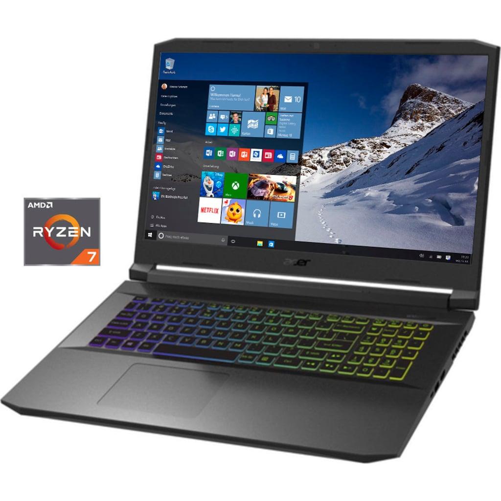 """Acer Notebook »Nitro 5 AN517-41-R0L3«, (43,94 cm/17,3 """" AMD Ryzen 7 GeForce RTX 3080\r\n 1000 GB SSD), Kostenloses Upgrade auf Windows 11, sobald verfügbar"""