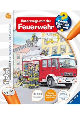 Buch tiptoi Unterwegs mit der Feuerwehr / Daniela Flucht, Niklas Böwer kaufen