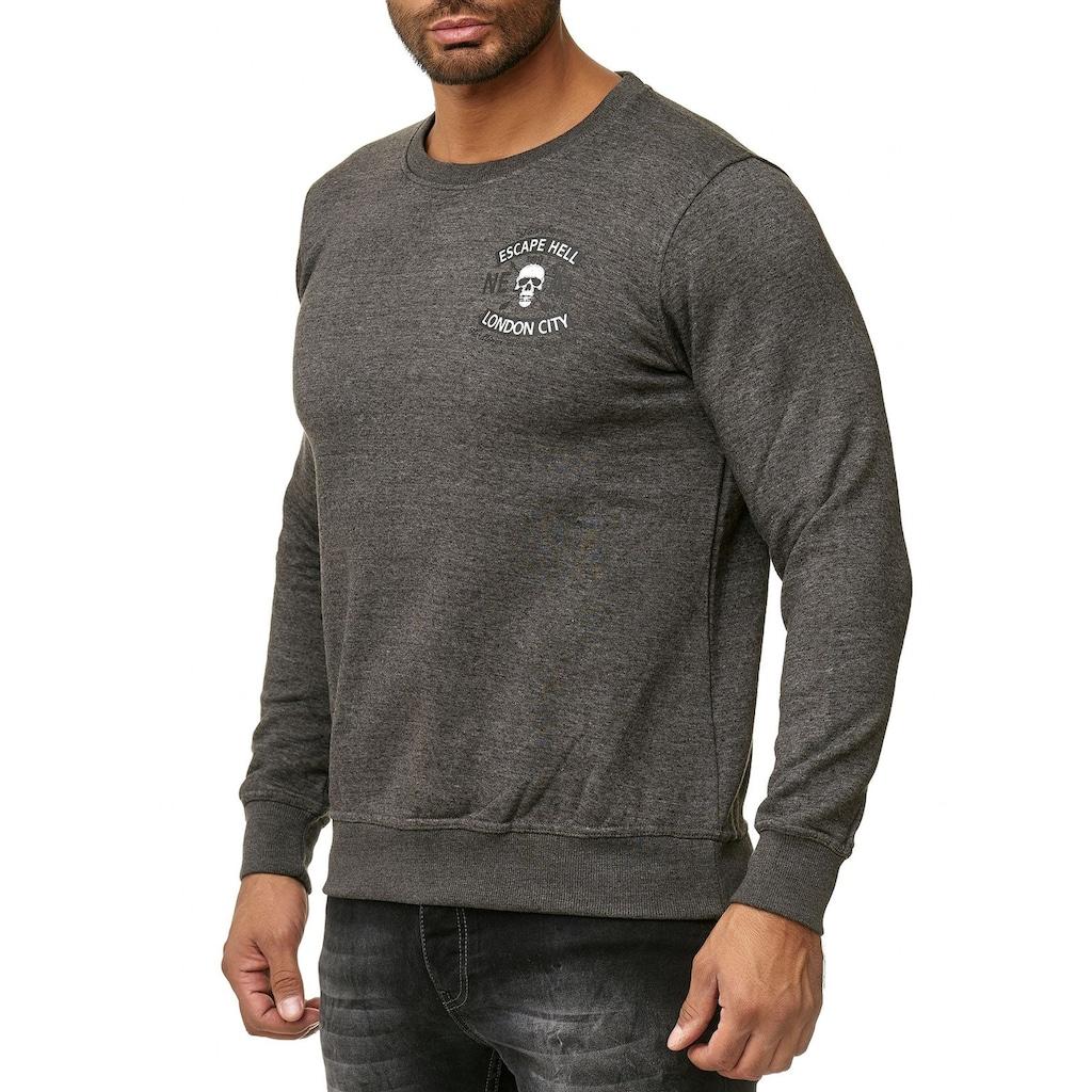 Rusty Neal Sweatshirt mit modischem Aufdruck