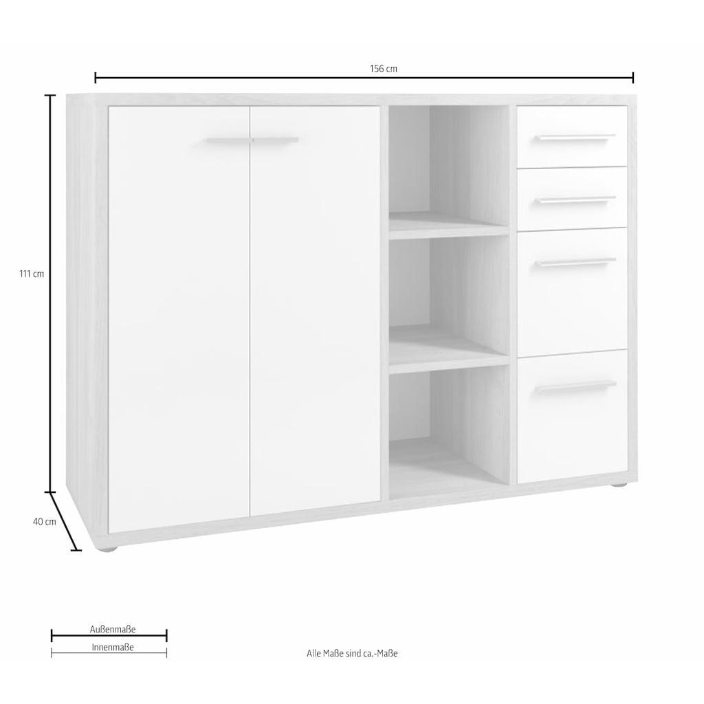 Maja Möbel Sideboard »Set+ 1683«, mit 4 Schubkästen
