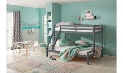 Lüttenhütt Kinderbett »Alpi«, mit 2 Schlafgelegenheiten, inklusive Lattenrost und... kaufen