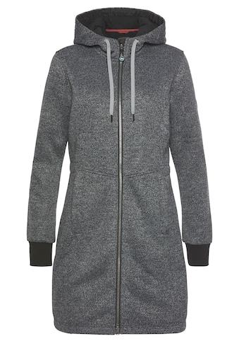 Polarino Wirkmantel, aus kuscheligem Fleece in Strickoptik kaufen