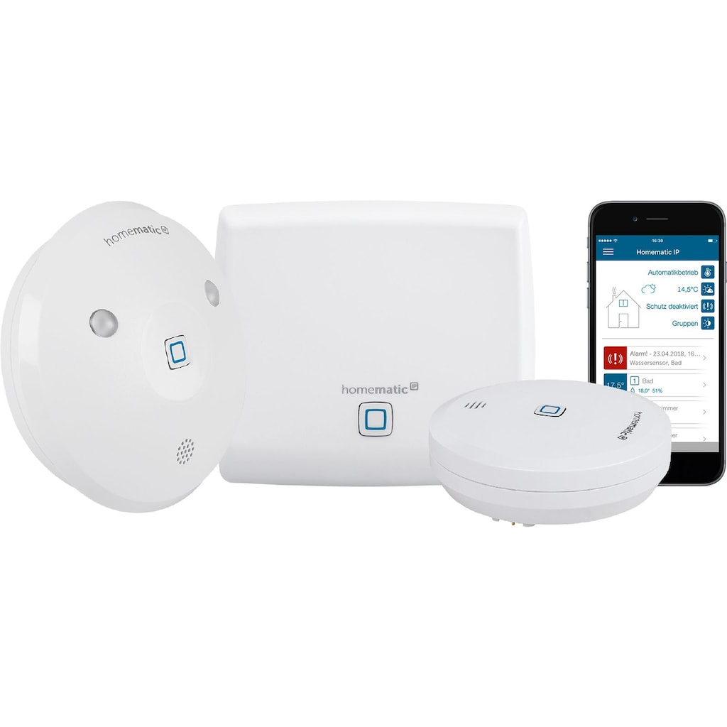 Homematic IP Smart Home »Starter Set Wasseralarm (153405A0)«