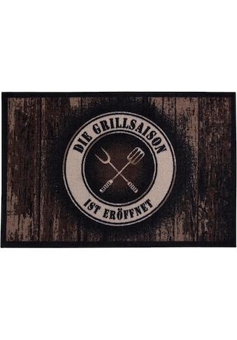 Andiamo Fußmatte »BBQ Grillsaison«, rechteckig, 3 mm Höhe, Schmutzfangmatte,... kaufen