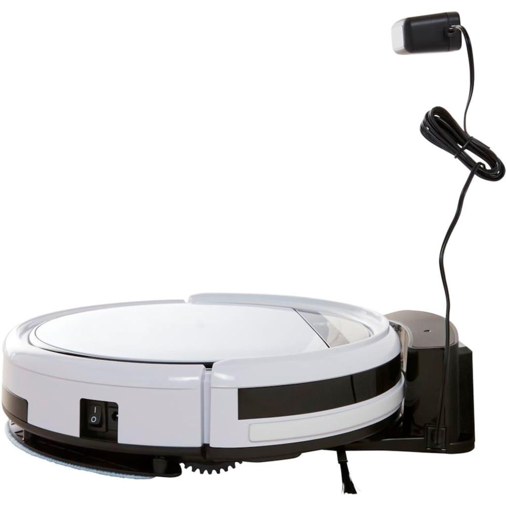 Medion® Saugroboter »mit Wischfunktion MD 10064«, + erweitertes Ersatzteilset + systematische Navigation