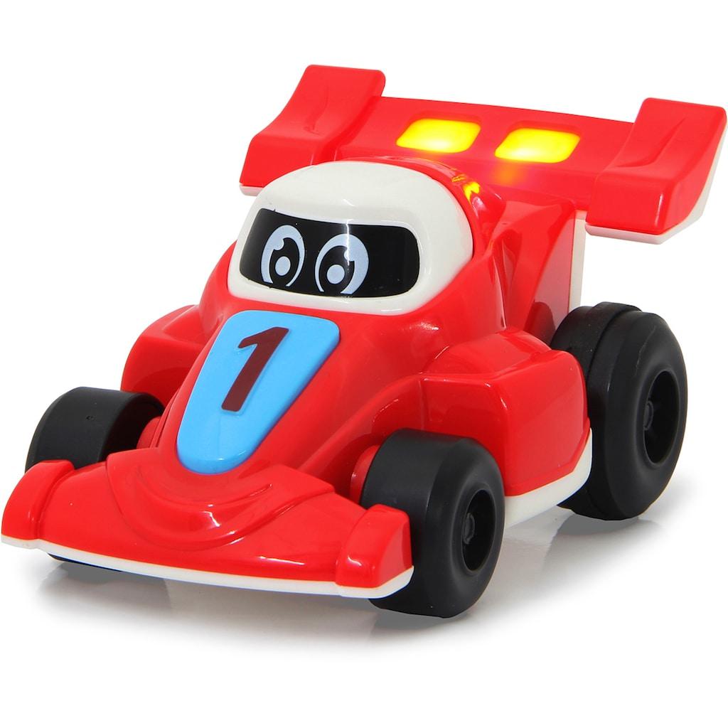 Jamara Spielzeug-Auto »My little Racer, rot/blau«, mit Licht und Sound
