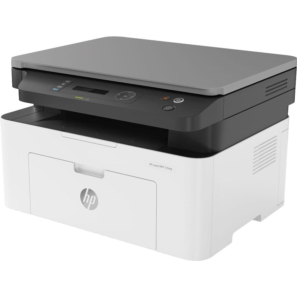 HP Multifunktionsdrucker »Laser MFP 135wg«