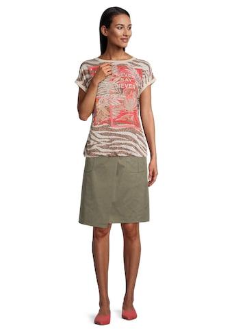 Betty Barclay Kurzarmshirt »mit Animalprint« kaufen