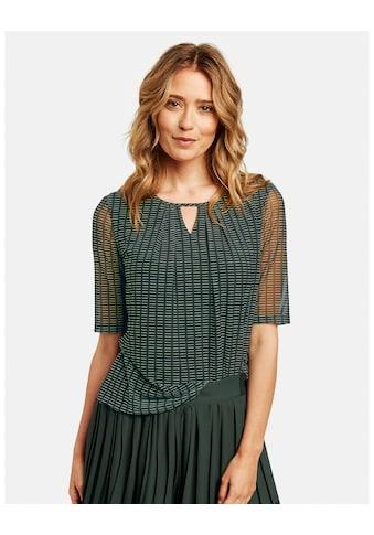 GERRY WEBER Kurzarmshirt »Shirt aus Mesh« kaufen