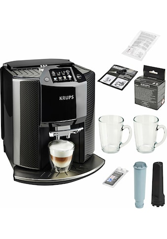 Krups Kaffeevollautomat »EA9078 Barista New Age«, Carbon, Espresso-Vollautomat, auch... kaufen