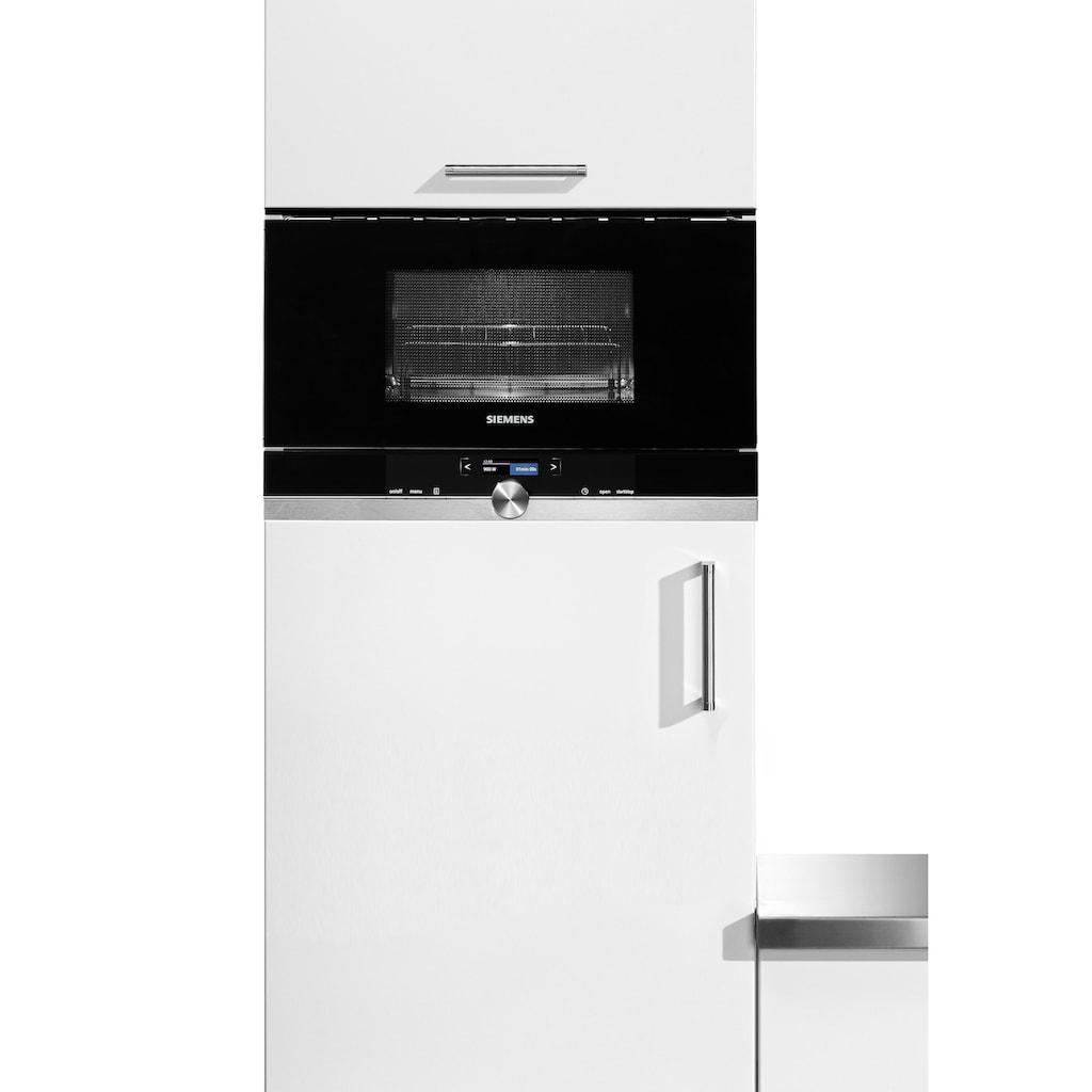 SIEMENS Einbau-Mikrowelle »BE634LGS1«, Mikrowelle-Grill, 900 W
