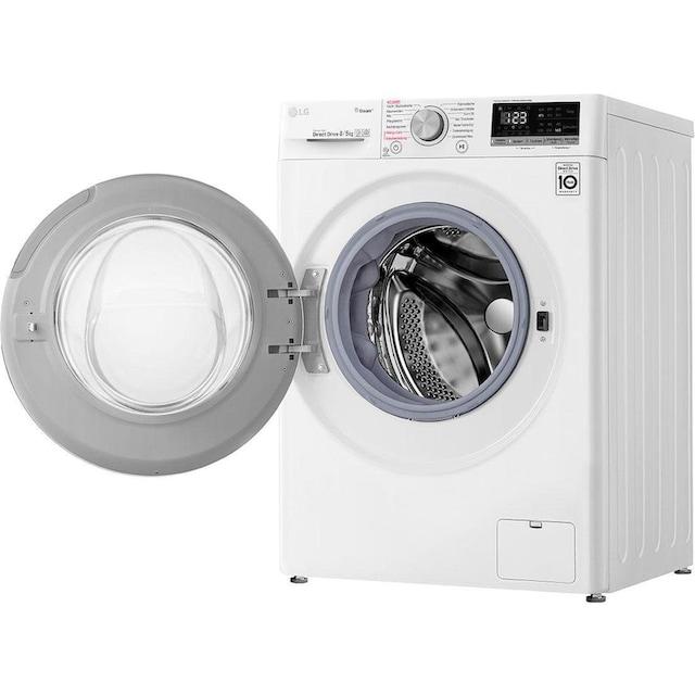 LG Waschtrockner 4 V4 WD 85S1, 8 kg / 5 kg, 1400 U/Min