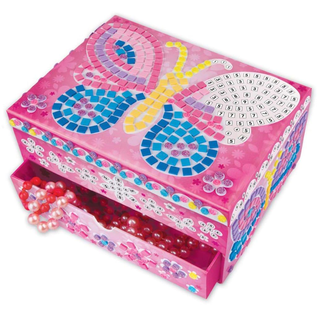 Sticky Mosaics Kreativset »Schmuckkästchen Schmetterling«