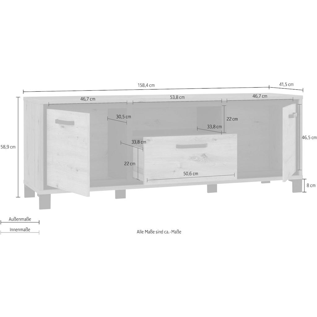 Lowboard, Breite 158 cm