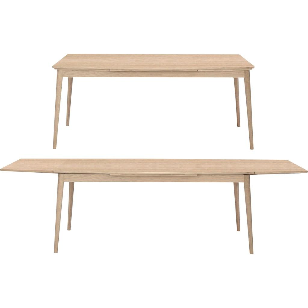 PBJ Essgruppe »Curve«, (Set, 7 tlg.), Essgruppe mit 6 Stühlen