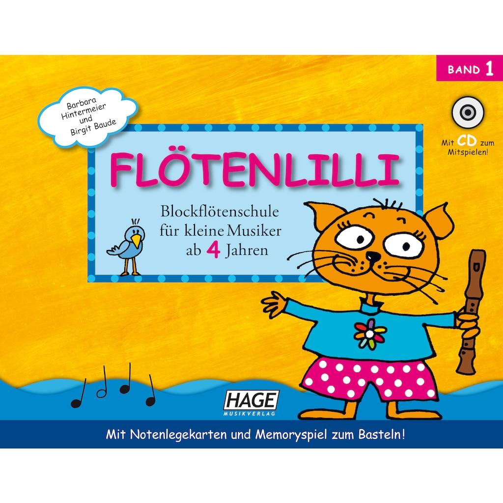 Hage Blockflöte »Lillis Blockföten Set - Barocke Griffweise«, Sopran, C-Dur, Barock