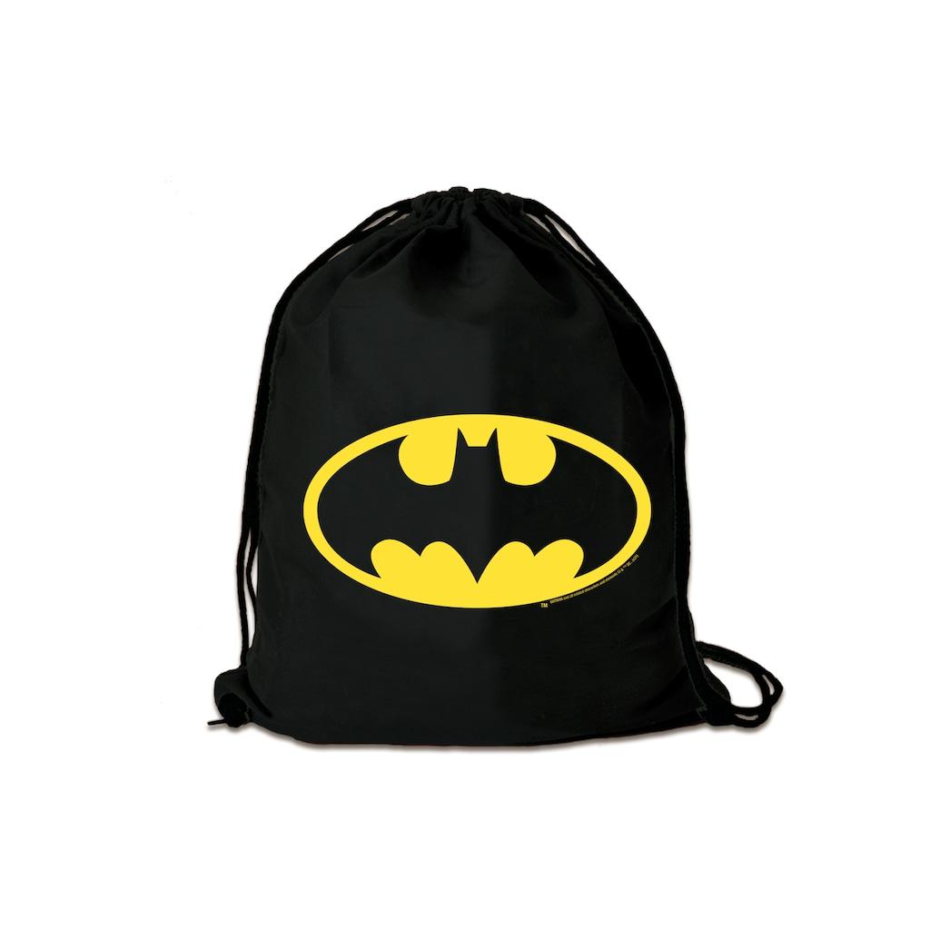LOGOSHIRT Turnbeutel »DC Comics - Batman«, mit lizenziertem Print