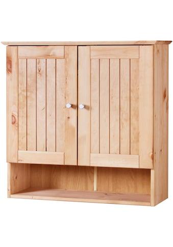 welltime Hängeschrank »Venezia Landhaus«, Badmöbel aus Massivholz, Breite 63 cm kaufen