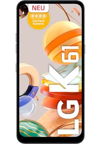 """LG Smartphone »K61«, (16,5 cm/6,53 """" 128 GB Speicherplatz, 48 MP Kamera) kaufen"""