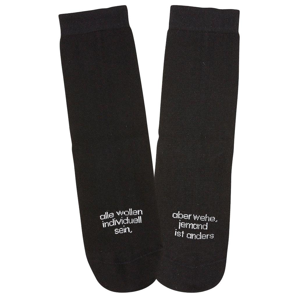 Bench. Socken, (7 Paar), mit Turnbeutel