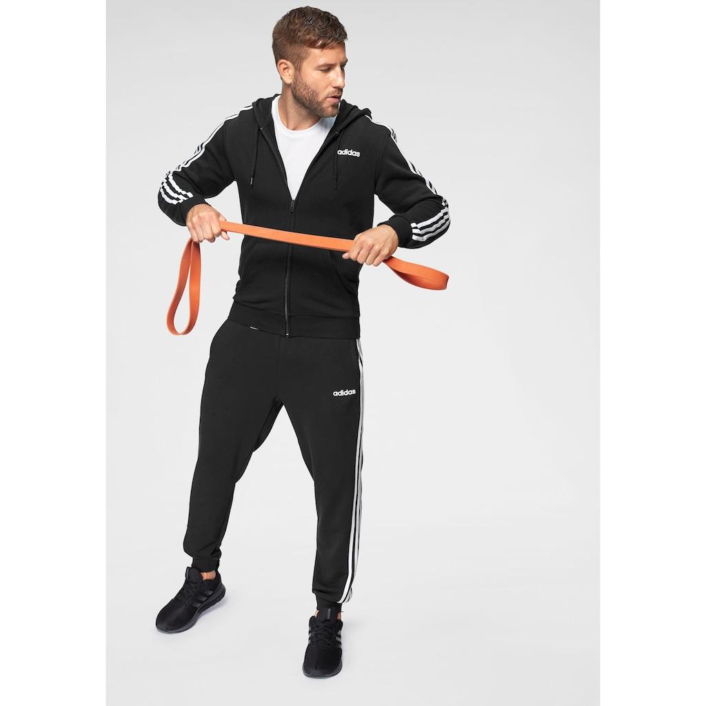 adidas Performance Kapuzensweatjacke »ESSENTIALS 3-STREIFEN«