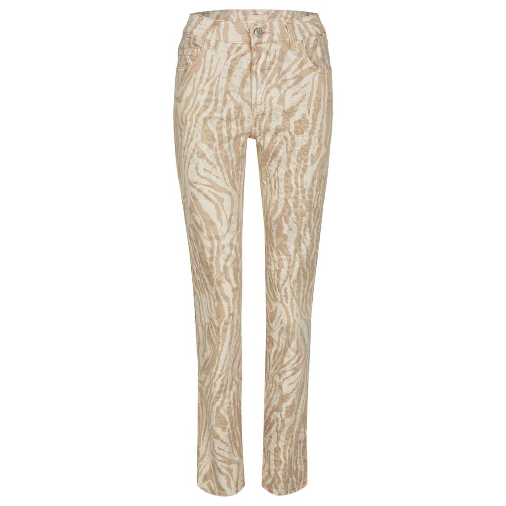 ANGELS Straight-Jeans, 'Cici' mit Animalprint