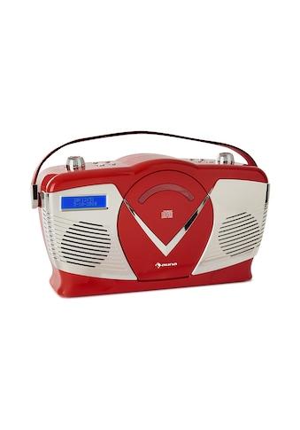 Auna auna RCD-70 DAB Retro CD-Radio UKW DAB+ CD-Player USB Bluetooth »RCD70« kaufen