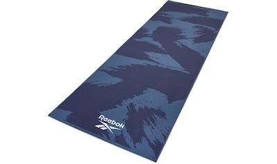 """Reebok Yogamatte »Reebok Yogamatte """"Pinselstrich-Effekt"""" - beidseitig, rutschfest« kaufen"""