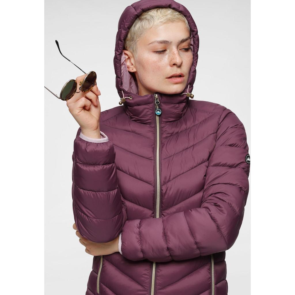 Polarino Steppmantel, besonders leicht aber mit großem Wärmerückhaltevermögen
