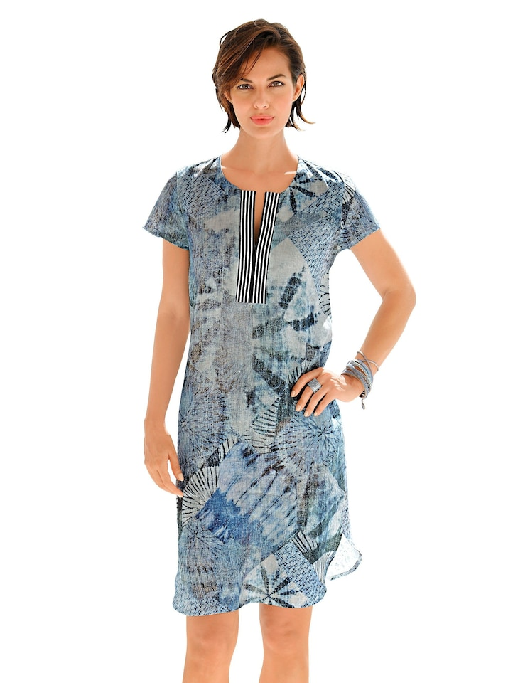 Alba moda leinenkleider