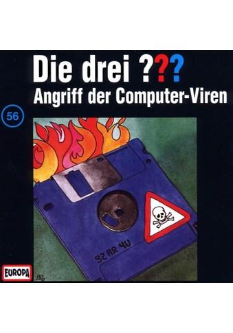 Musik-CD »DIE DREI ??? 56 - ANGRIFF DER / DIE DREI ??? 56« kaufen