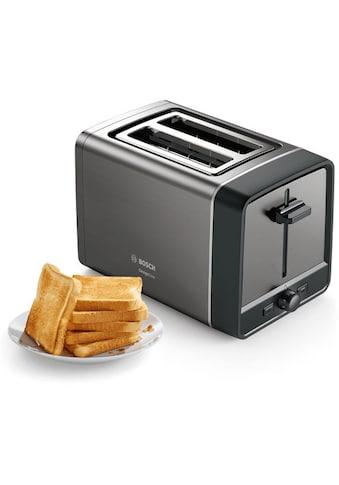 BOSCH Toaster »TAT5P425DE DesignLine«, 970 Watt kaufen