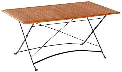 MERXX Gartentisch »Schloßgarten«, 90x160 cm kaufen