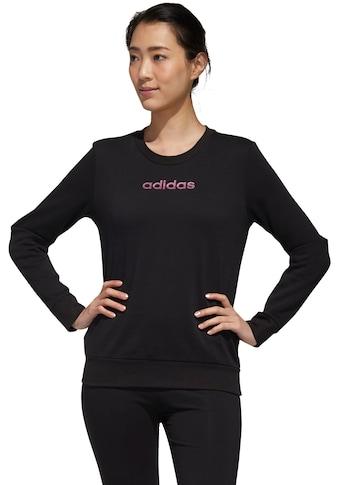 adidas Performance Sweatshirt »WOMEN ESSENTIAL CREW SWEAT« kaufen