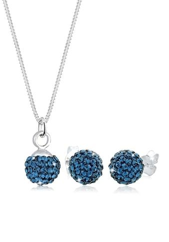 Elli Schmuckset »Kugel Kristalle Sterling Silber« kaufen