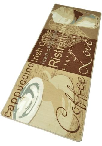 HANSE Home Küchenläufer »Coffe Love«, rechteckig, 8 mm Höhe, Kurzflor, gekettelt kaufen