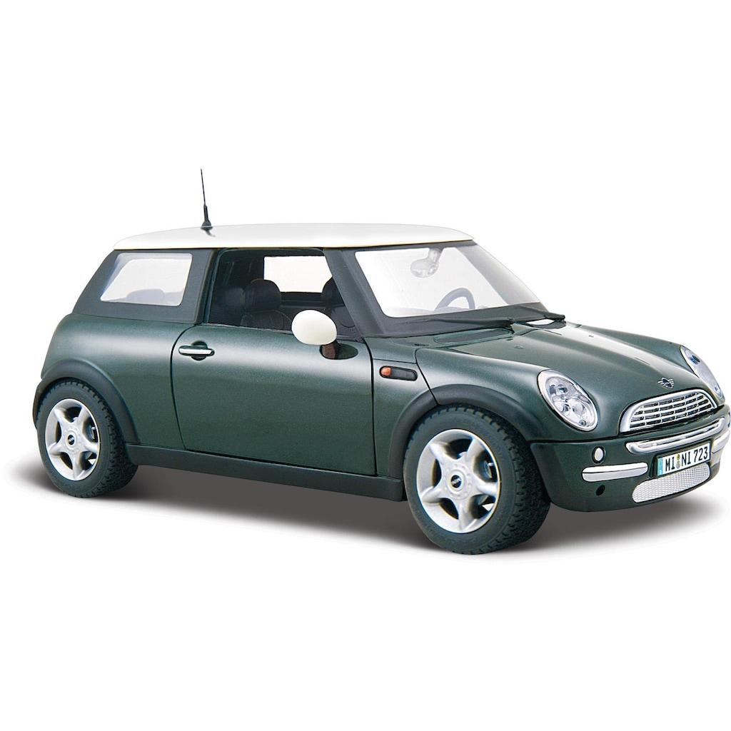 Maisto® Sammlerauto »Mini Cooper, 1:24, metallic grün«, 1:24, aus Metallspritzguss